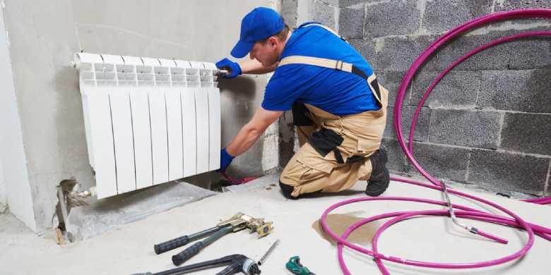 plaatsing, reparatie en onderhoud centrale verwarming